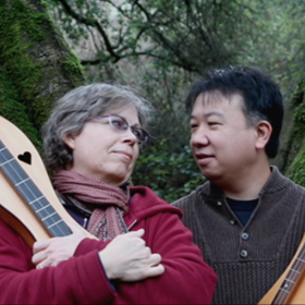 Photo of Filmmakers Patricia Delich & Wayne Jiang